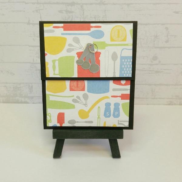 pochette carte-cadeau thème cuisine
