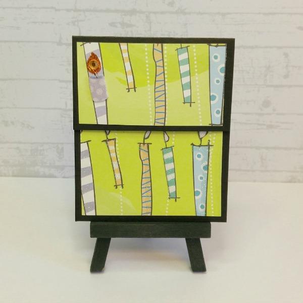 pochette carte-cadeau thème anniversaire
