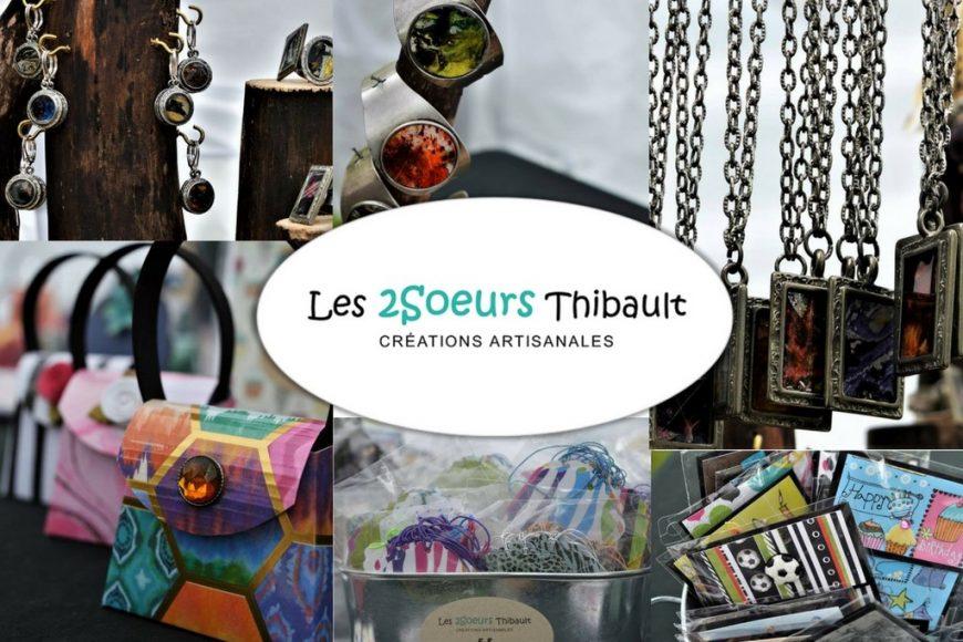 En ligne et en chair et en os … Les 2Soeurs Thibault s'exposent!